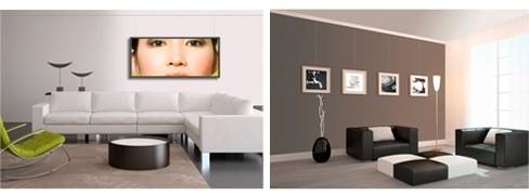 stas bilderschienen der beste weg ihre bilder aufzuh ngen. Black Bedroom Furniture Sets. Home Design Ideas